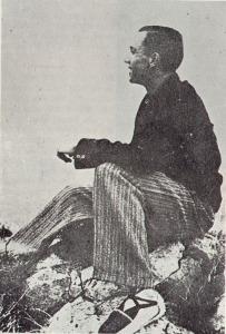 Miguel Hernández, en la sierra de Orihuela, en 1934
