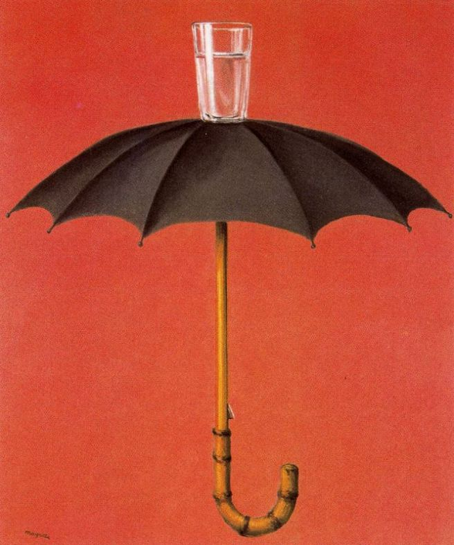 "René Magritte, ""Hegel's Holiday"""