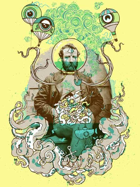 """Luke Drodz, """"Julio Verne"""""""