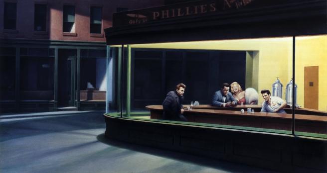 Boulevard Of Broken Dreams, by Helnwein