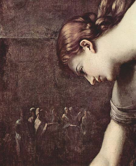 """Atalanta e Hipómenes"" (detalle), Guido Reni, c. 1622–25"