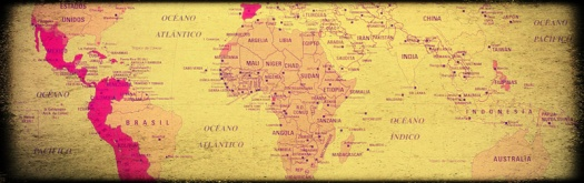 spanish language old map